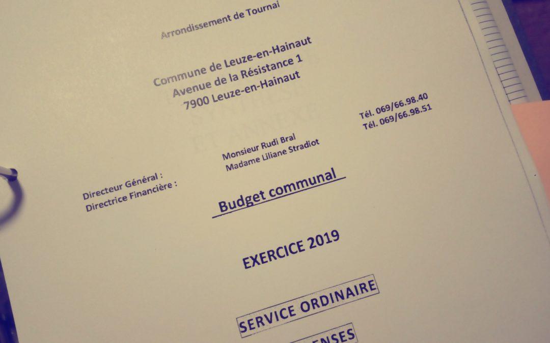 Conseil communal du 19 décembre 2018